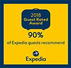 Expedia Guest Rated Award 2018